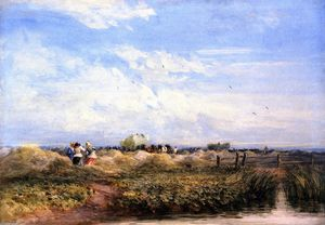 David Cox - The Hayfield