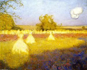 Charles Edward Conder - Hayfield, France