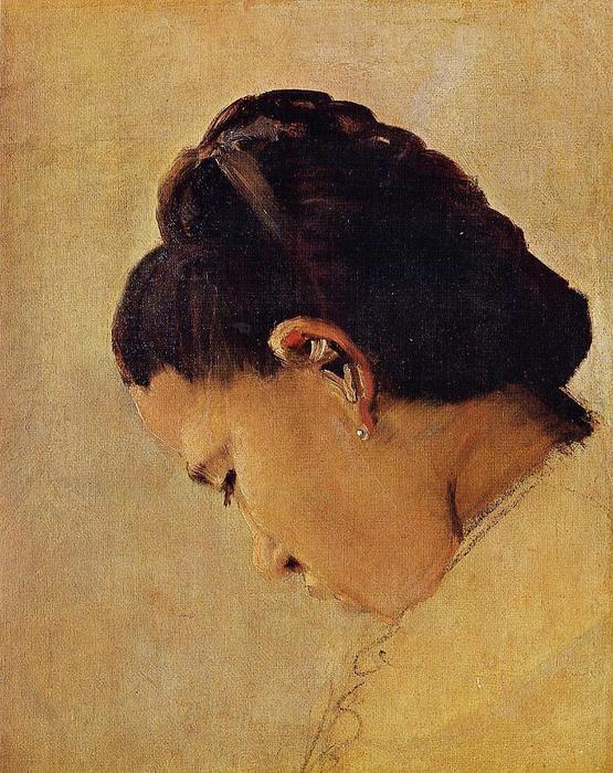 famous painting Head of a Girl of Georges Pierre Seurat