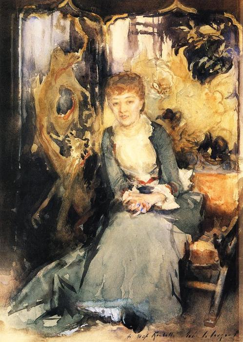 famous painting Henrietta Reubell of John Singer Sargent