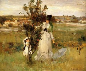 Berthe Morisot - Hide and Seek