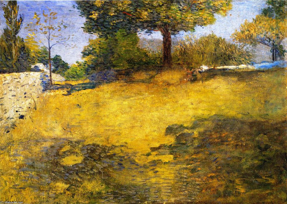 famous painting The High Pasture of Julian Alden Weir