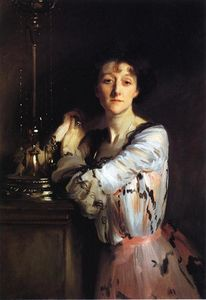 John Singer Sargent - The Honorable Mrs. Charles Russell