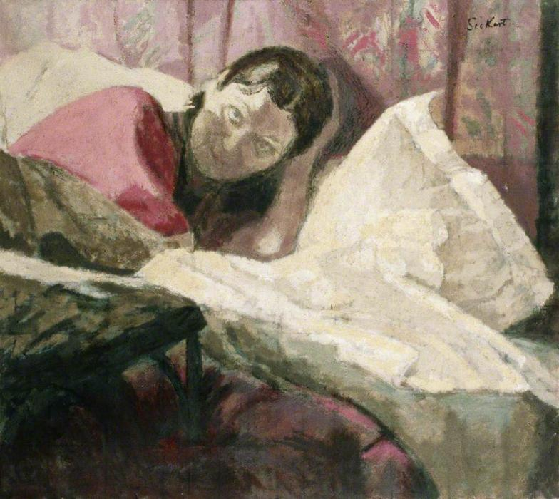 famous painting The Honourable Lady Fry of Walter Richard Sickert