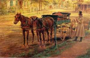 Edward Lamson Henry - Horse and Buggy