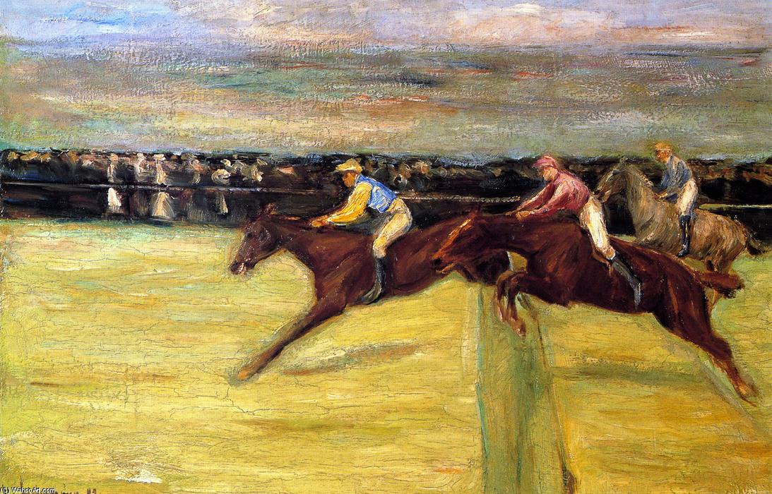 famous painting Horserace at Cascina of Max Liebermann