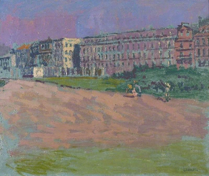 famous painting Hotel Royal, Dieppe, France of Walter Richard Sickert