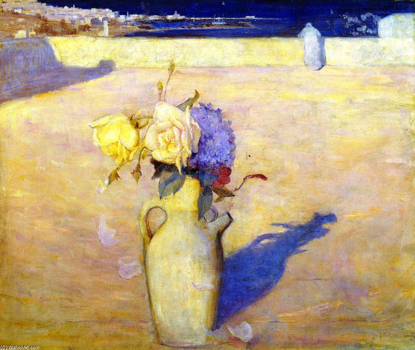 famous painting The Hot Sands, Mustapha of Charles Edward Conder