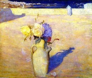 Charles Edward Conder - The Hot Sands, Mustapha