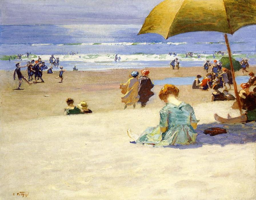 Order Art Reproductions Impressionism | Hourtide by Edward Henry Potthast | TopImpressionists.com