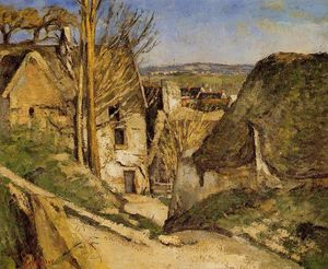 Paul Cezanne - House of the Hanged Man, Auvers-sur-Oise