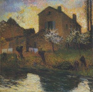 Henri Jean Guillaume Martin - House of Marie Louise in Labastide