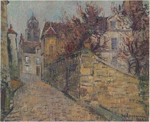 Gustave Loiseau - House of the Sisters in Pontoise