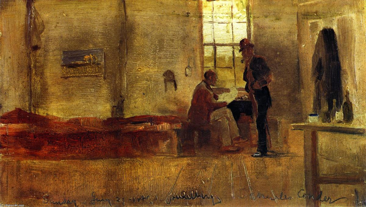 famous painting Impressionists' Camp of Charles Edward Conder