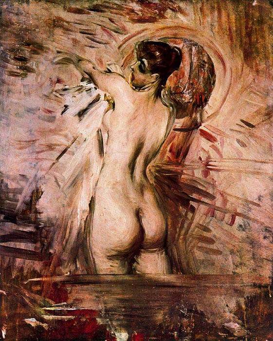 famous painting In the Bath of Giovanni Boldini