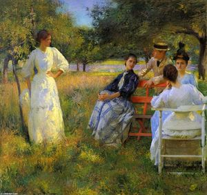 Edmund Charles Tarbell - In the Orchard