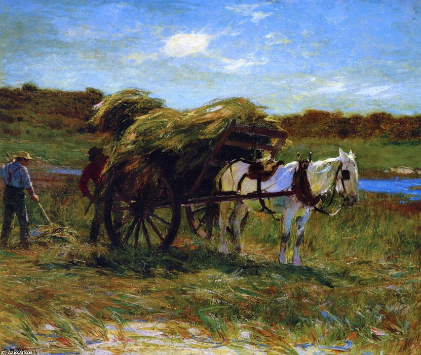 famous painting In the Salt Marshes of Edward Henry Potthast