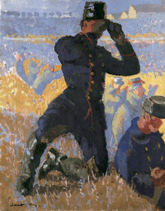 famous painting The Integrity of Belgium of Walter Richard Sickert