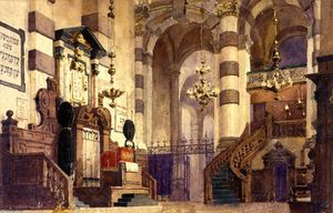 Vasily Polenov - Interior of the Cathedral