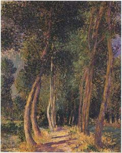 Gustave Loiseau - In the Woods