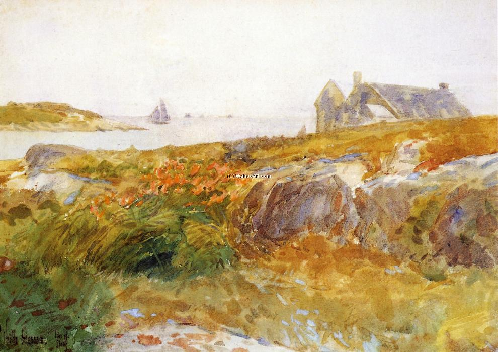 famous painting Isles of Shoals of Frederick Childe Hassam