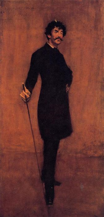 famous painting James Abbott McNeil Whistler of William Merritt Chase
