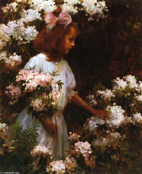 famous painting Jane Huntington McKelvey of Charles Courtney Curran