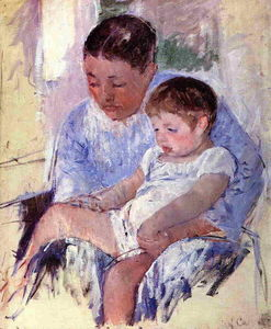 Mary Stevenson Cassatt - Jenny and Her Sleepy Child
