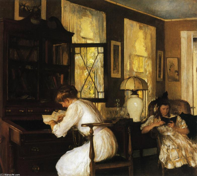 famous painting Josephine and Mercie of Edmund Charles Tarbell