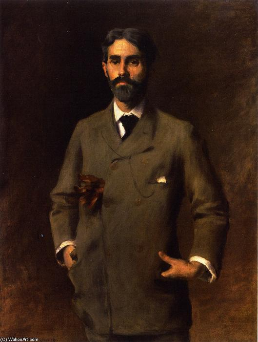 famous painting Jules Turcas of William Merritt Chase