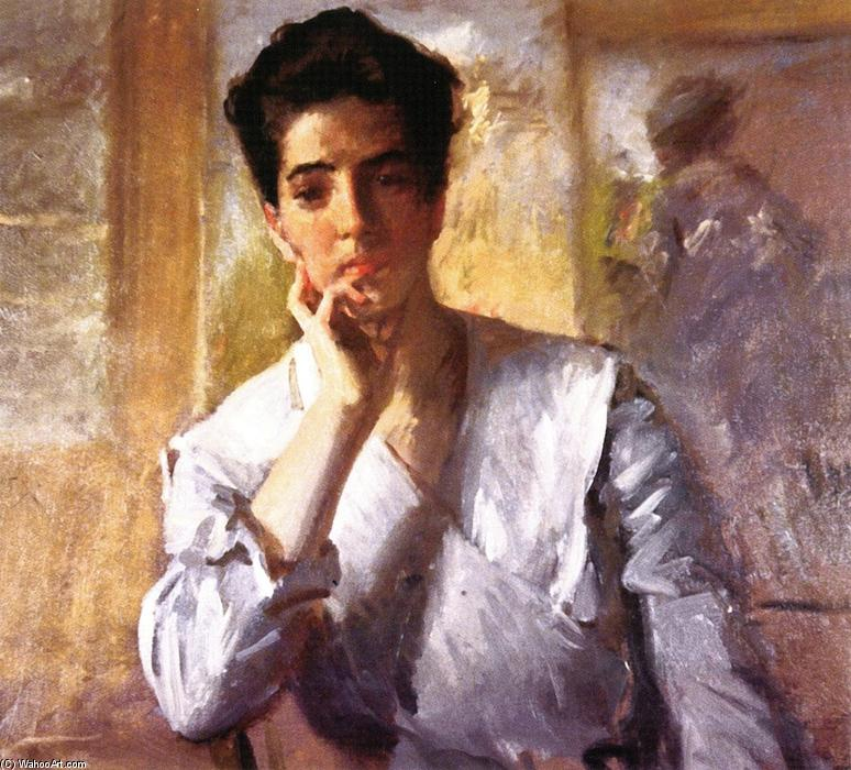 famous painting Kate Freeman Clark of William Merritt Chase