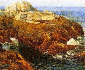 Frederick Childe Hassam - Kelp-Covered Rocks, Isle of Shoals