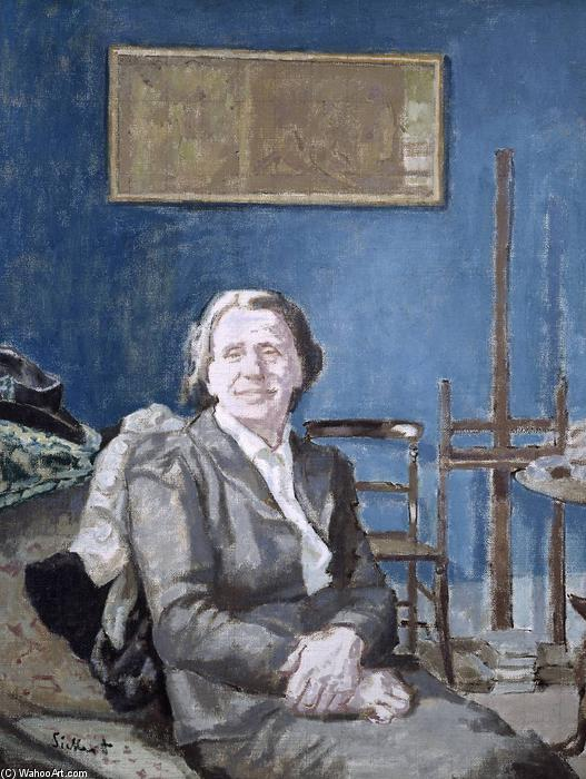 famous painting Lady Martin of Walter Richard Sickert