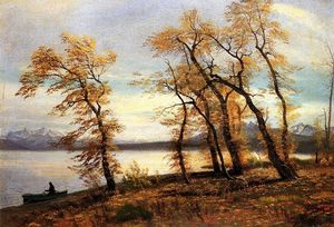 Albert Bierstadt - Lake Mary, California