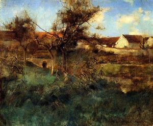 Willard Leroy Metcalf - Landscape