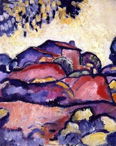 Georges Braque - Landscape at L'Estaque