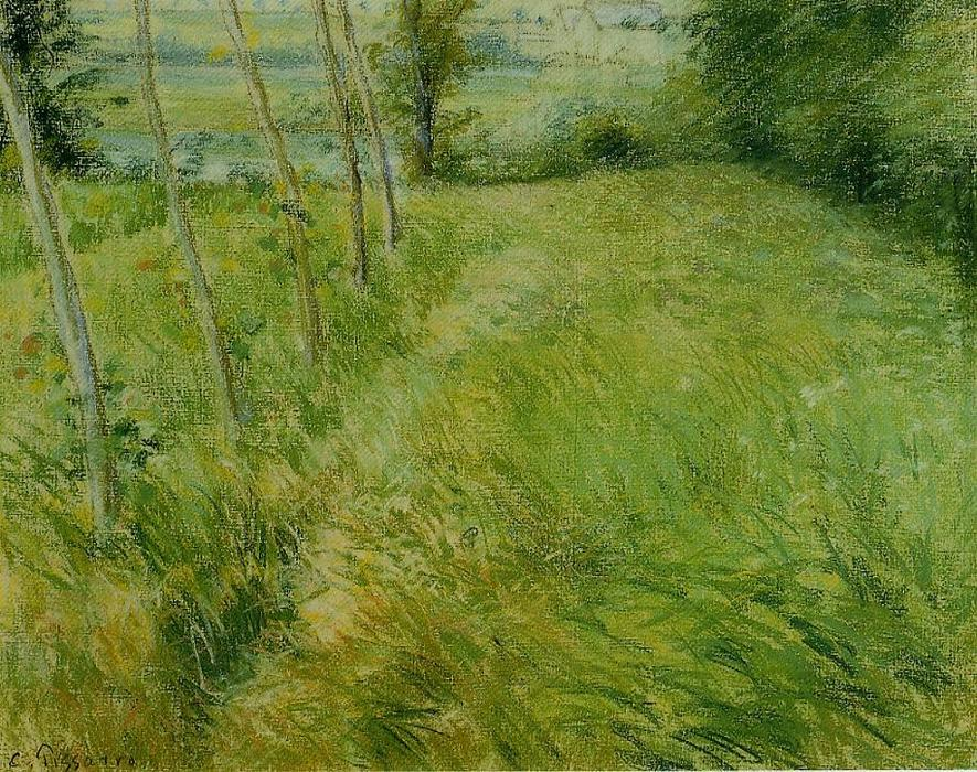 famous painting Landscape at Pontoise of Camille Pissarro