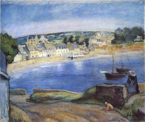Henri Lebasque - Landscape in Britain at Miget
