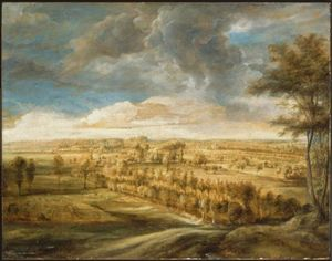 Peter Paul Rubens - Landscape with an Avenue of Trees