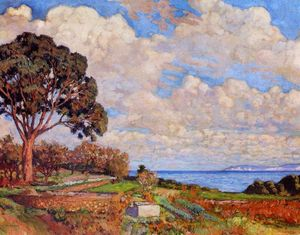 Theo Van Rysselberghe - Large Tree near the Sea