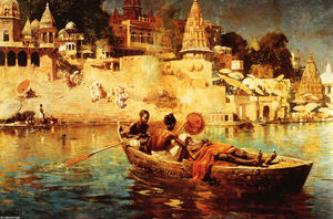 Edwin Lord Weeks - The Last Voyage: A Souvenir of the Ganges
