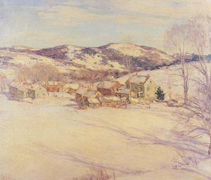 Willard Leroy Metcalf - Late Afternoon, March