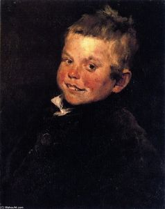 William Merritt Chase - Laughing Boy