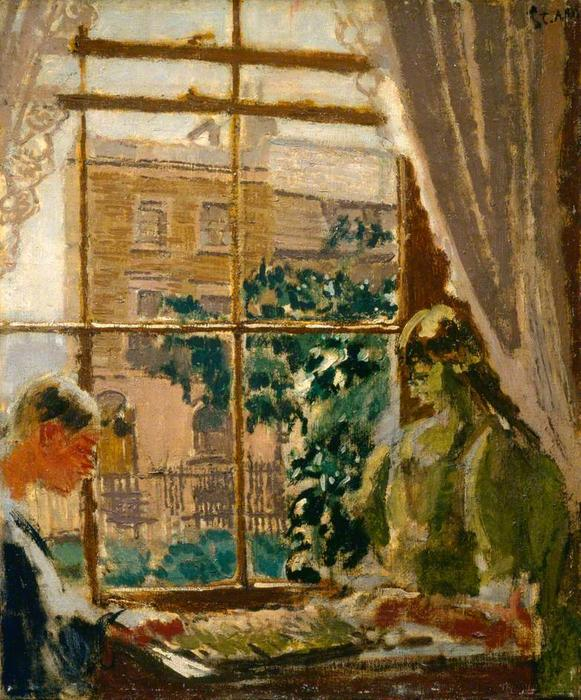 famous painting Laylock and Thunderplump of Walter Richard Sickert
