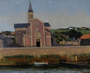 Walter Richard Sickert - L'eglise du Pollet, Dieppe, France