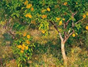 Henry Scott Tuke - The Lemon Tree