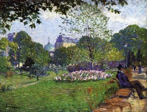 Henri Lebasque - Le Parc de Saint-Cloud