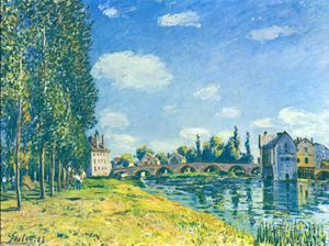 Alfred Sisley - The straw Rent
