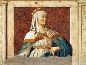 Andrea Del Castagno - Queen Esther