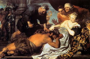 Anthony Van Dyck - Samson and Delilah